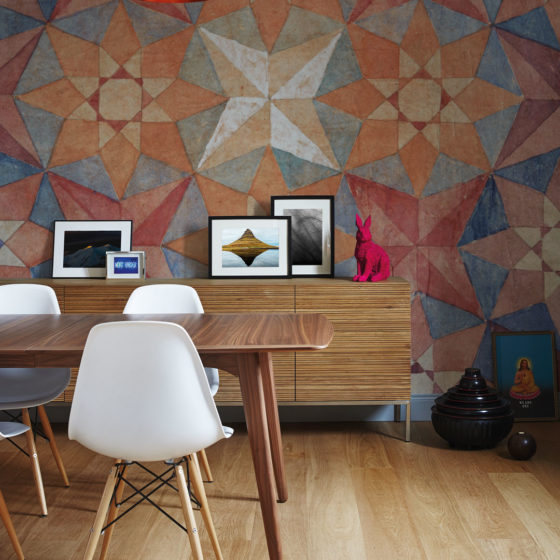 Wallcovering Collection 2017/18 - Caleido rosa
