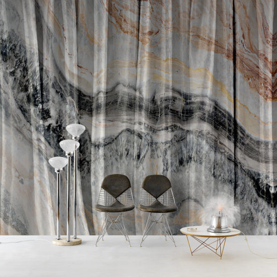 Wallcovering Collection 2017/18 - Marble curtain