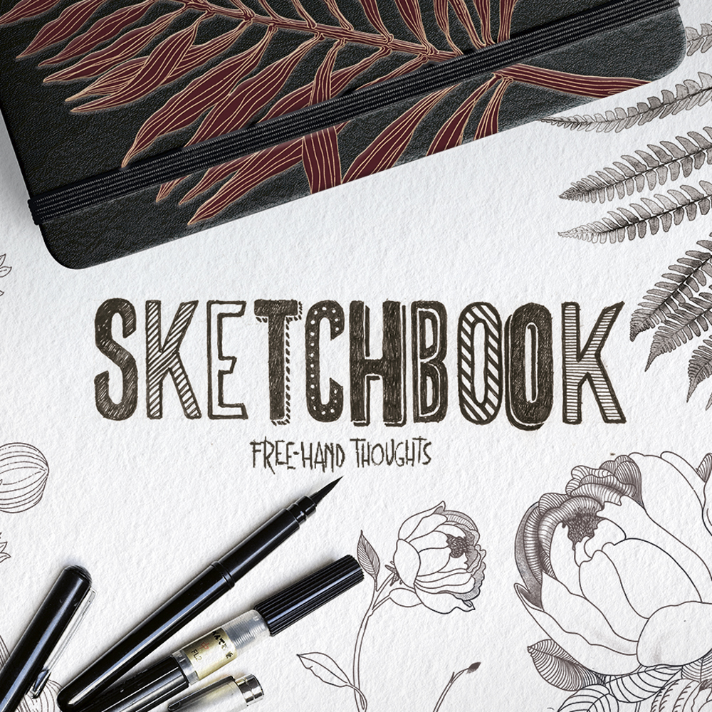 Sketchbook, free-hand thoughts