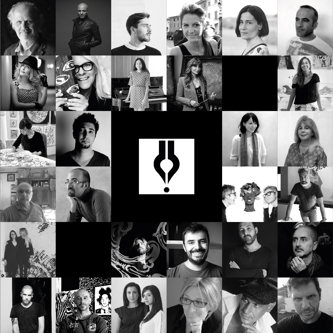 Discover the new artists and designers page on the website of Inkiostro Bianco