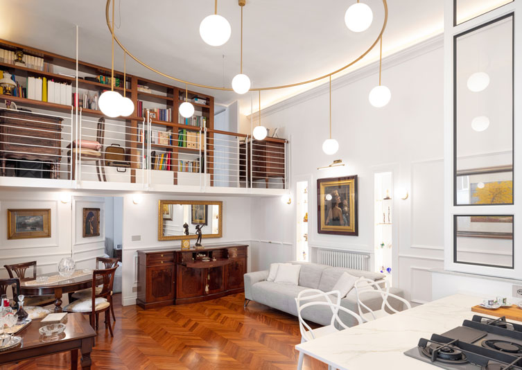 """""""CASA C."""" residential project: an elegant house in the heart of Naples"""